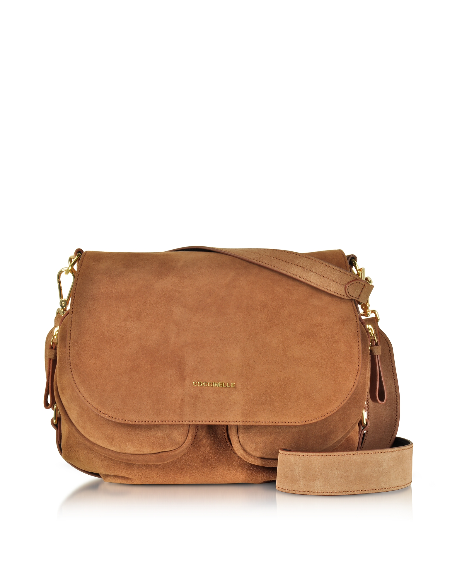 Coccinelle Handbags, Janine Suede Shoulder Bag