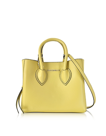 Farisa Pebbled Leather Mini Tote Bag