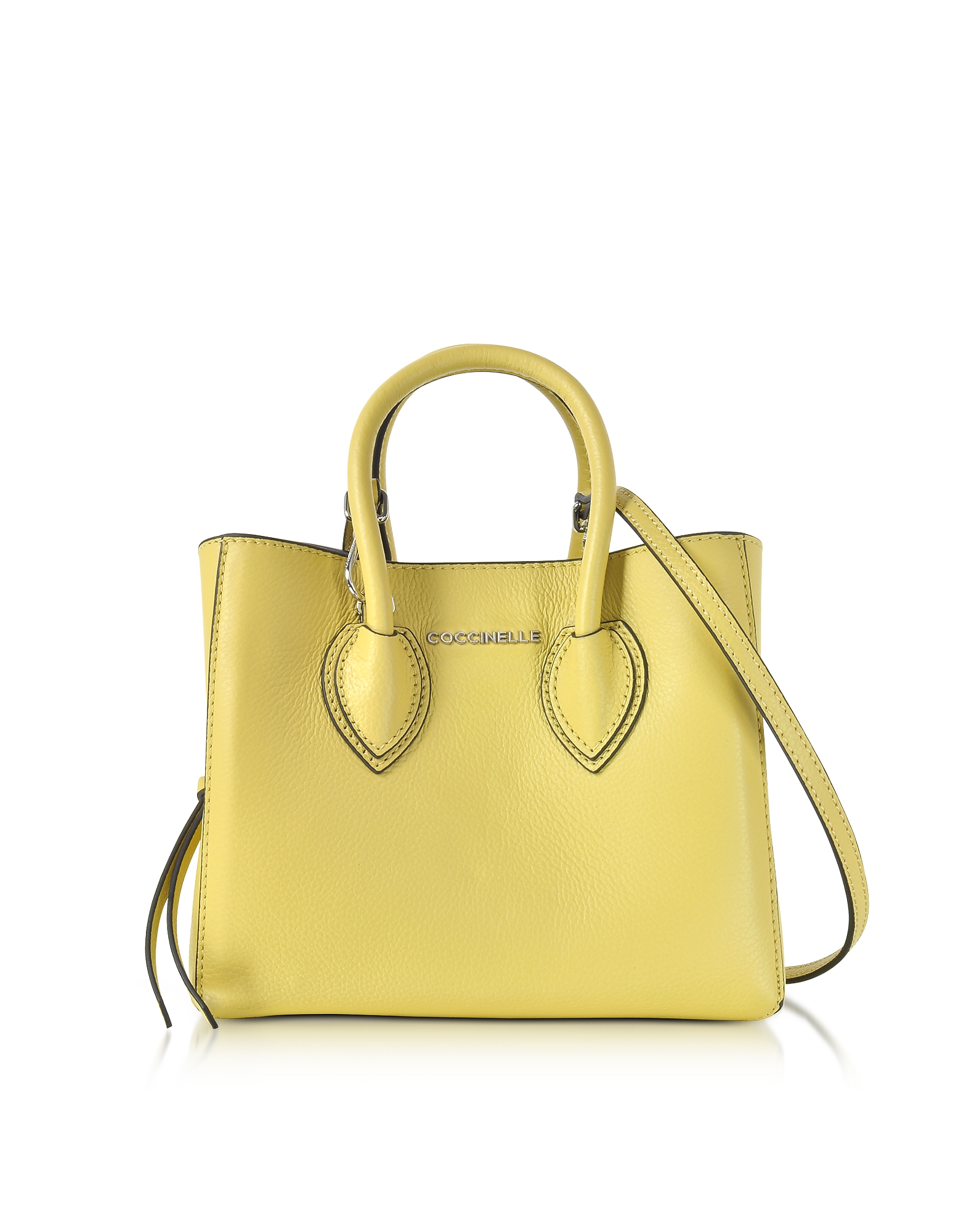 Coccinelle Handbags, Farisa Pebbled Leather Mini Tote Bag