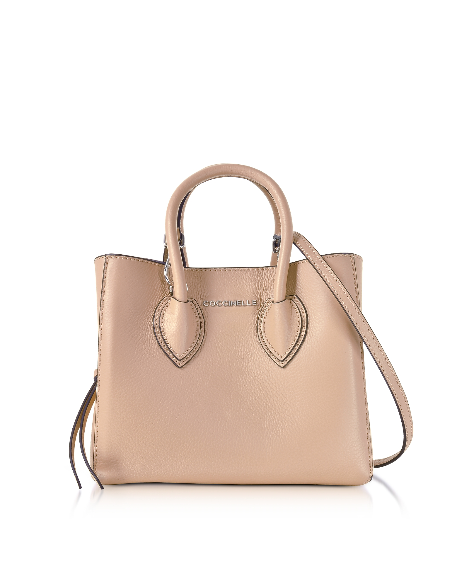Coccinelle Handbags, Farisa Pebbled Leather Mini Tote Bag