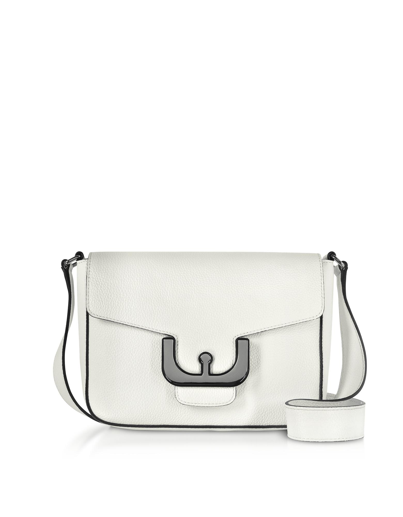 Ambrine Leather Crossbody Bag