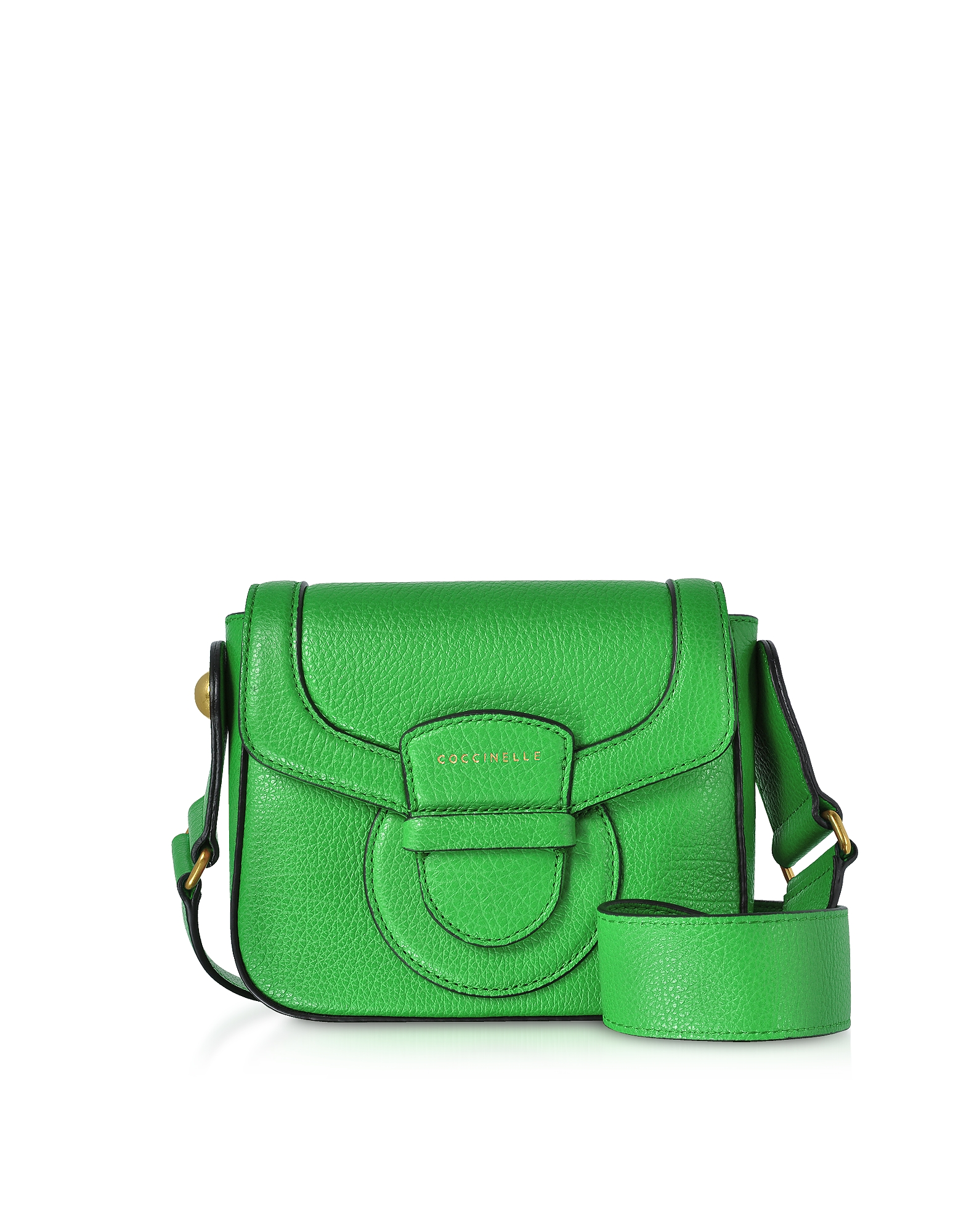 Vega Small Leather Shoulder Bag