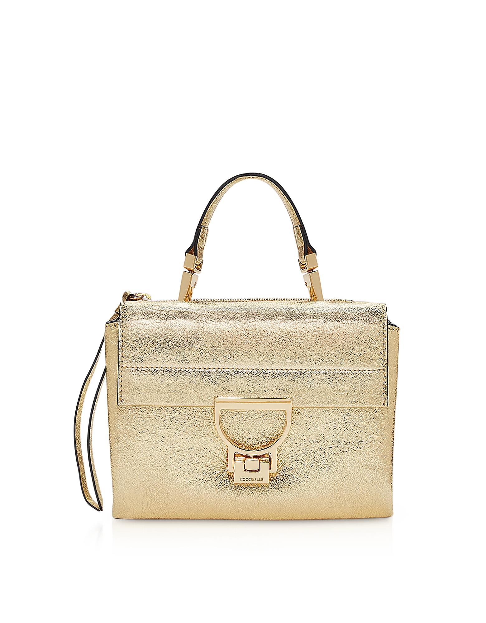 Coccinelle Handbags, Arlettis Glitter Mini Bag w/Shoulder Strap