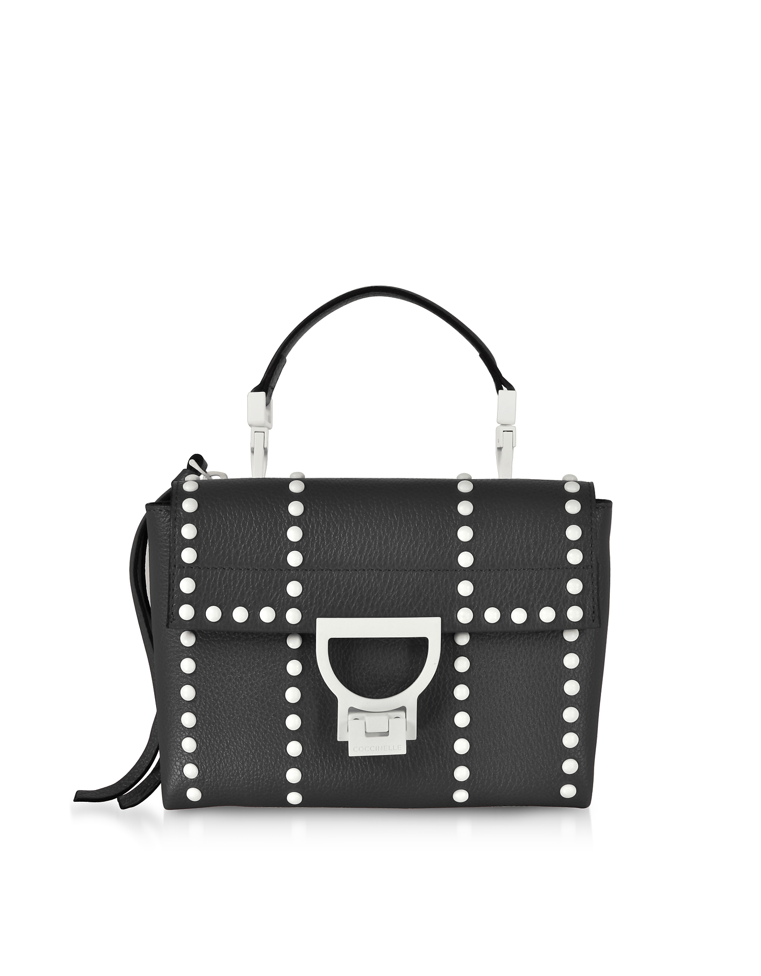 Coccinelle Handbags, Arlettis Special Studs Leather Shoulder Bag