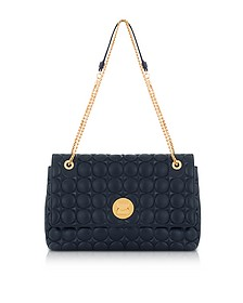 Liya Quilted Leather Shoulder Bag - Coccinelle