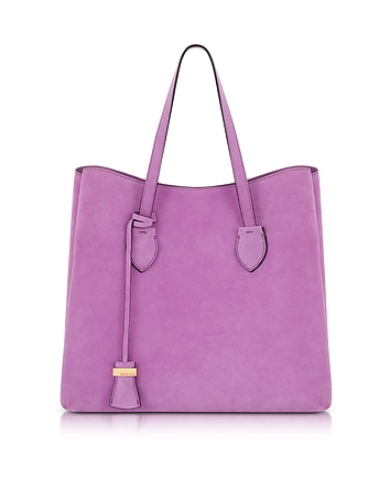 Coccinelle - Celene Orchid Suede Tote Bag