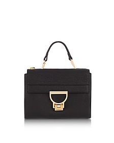 Pebbled Leather Arlettis Mini Bag w/Shoulder Strap - Coccinelle