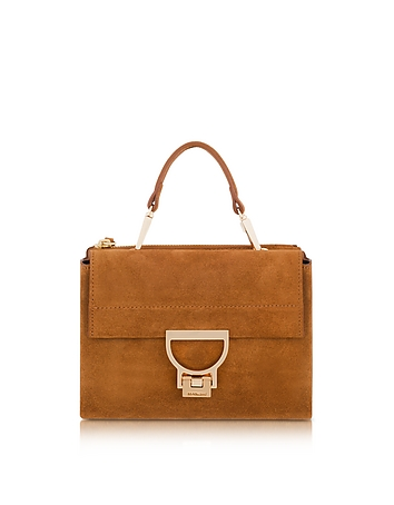 Coccinelle - Suede Arlettis Mini Bag w/Shoulder Strap