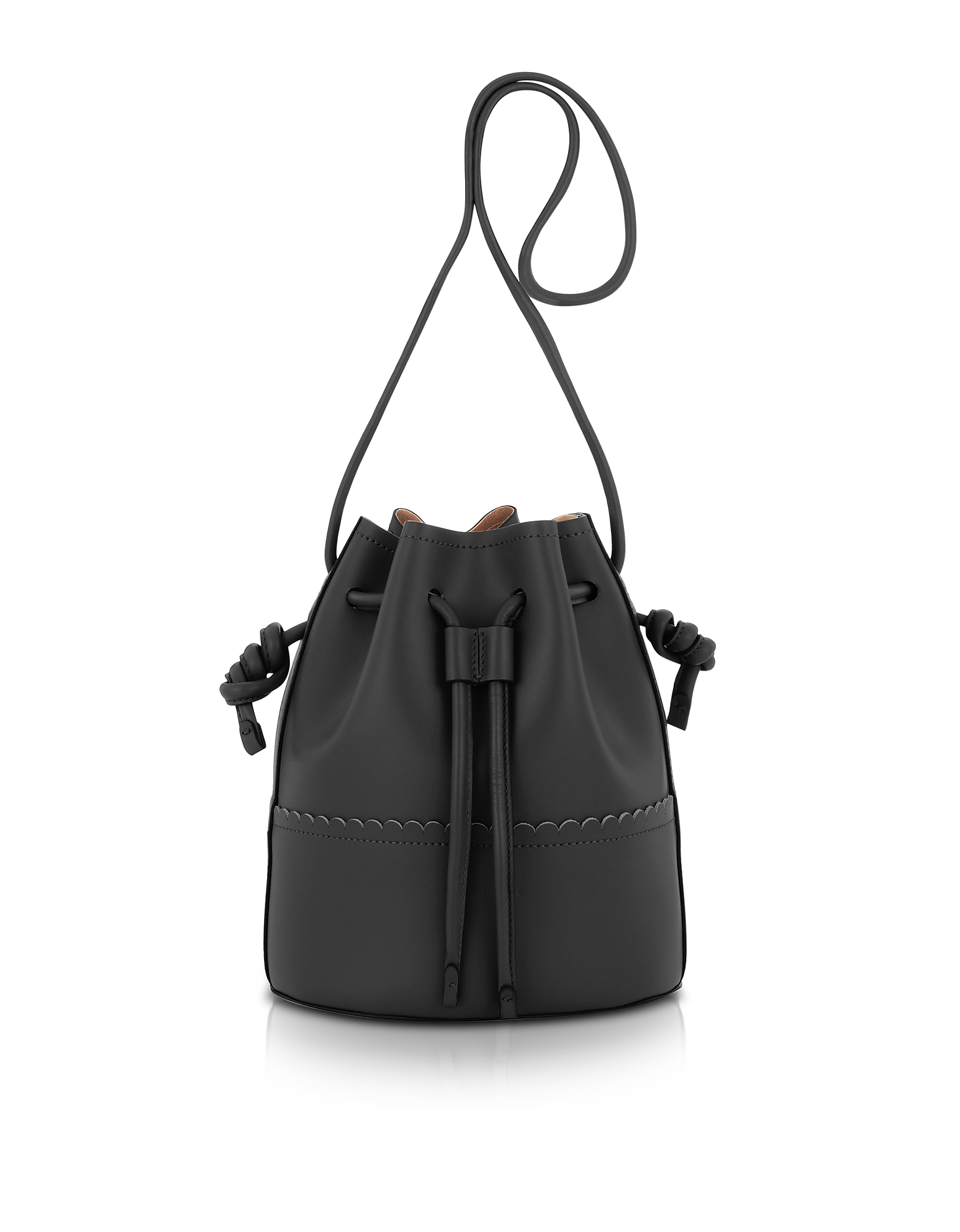 Coccinelle Handbags, Matilde Medium Leather Bucket Bag