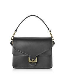 Ambrine Black Leather Satchel Bag - Coccinelle