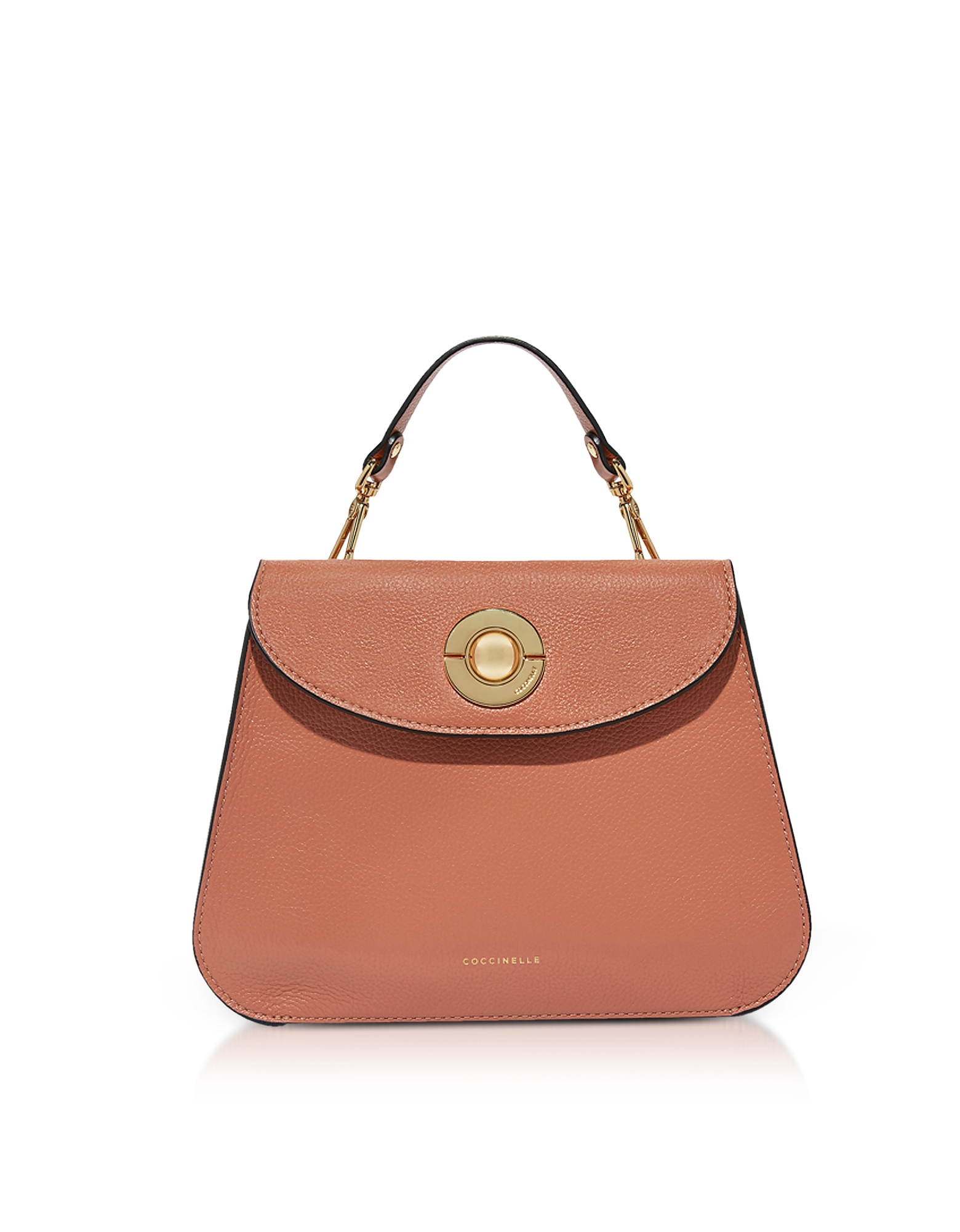 Coccinelle Handbags, Jalouse Leather Flat Shoulder Bag