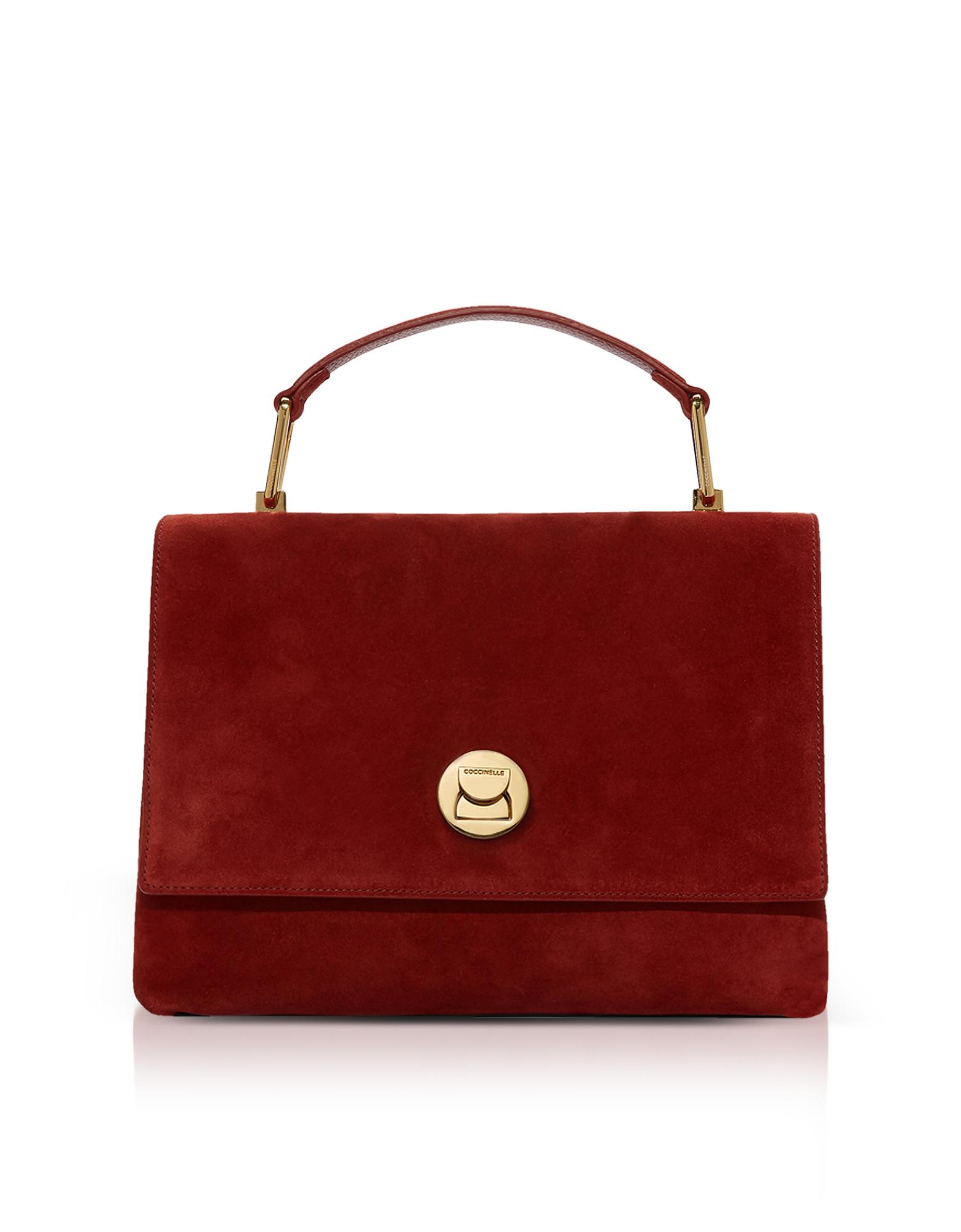 Liya Suede Satchel Bag