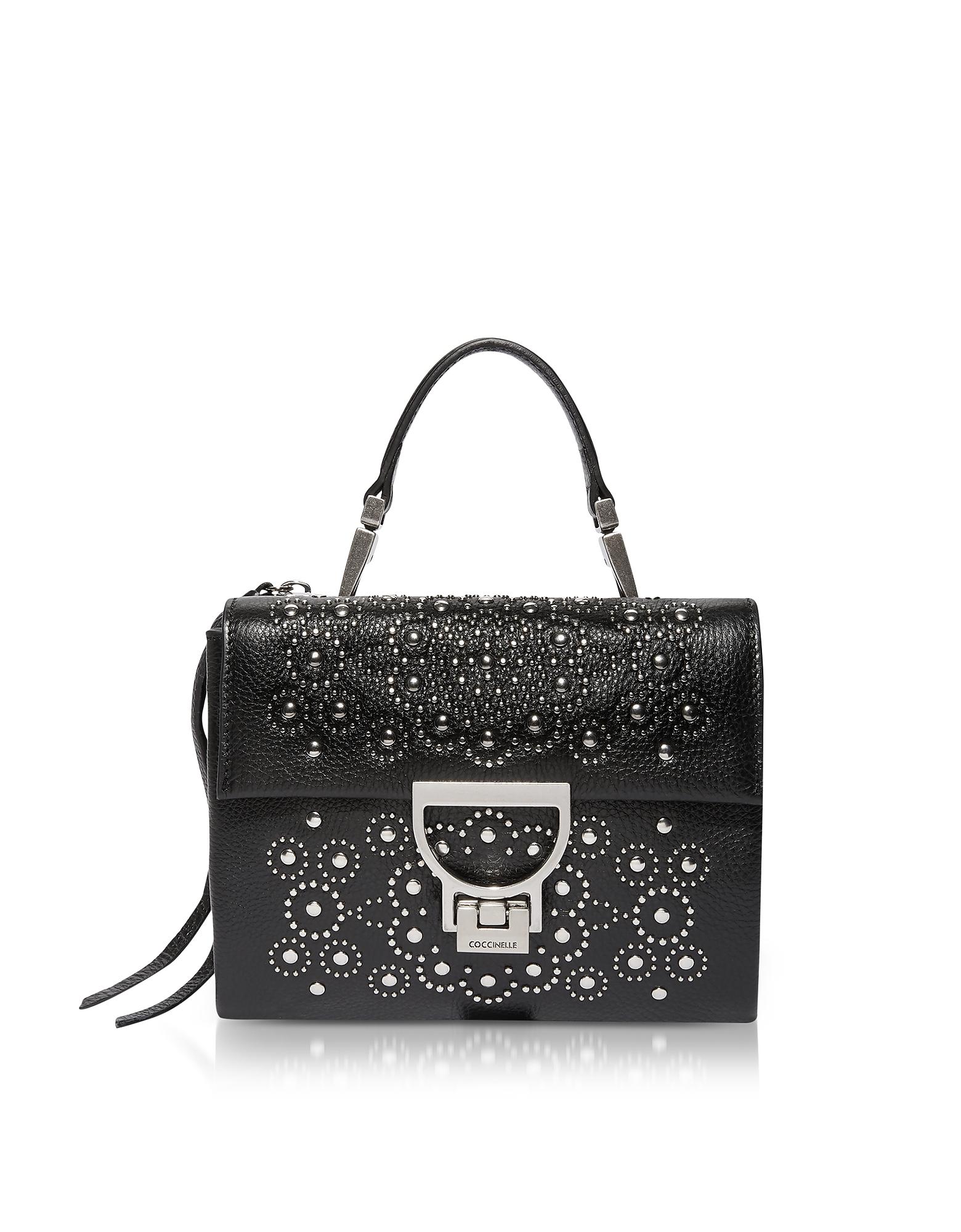 Coccinelle Handbags, Arlettis Studs Mini Bag w/Shoulder Strap