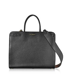 Clelia Black Leather Tote Bag - Coccinelle