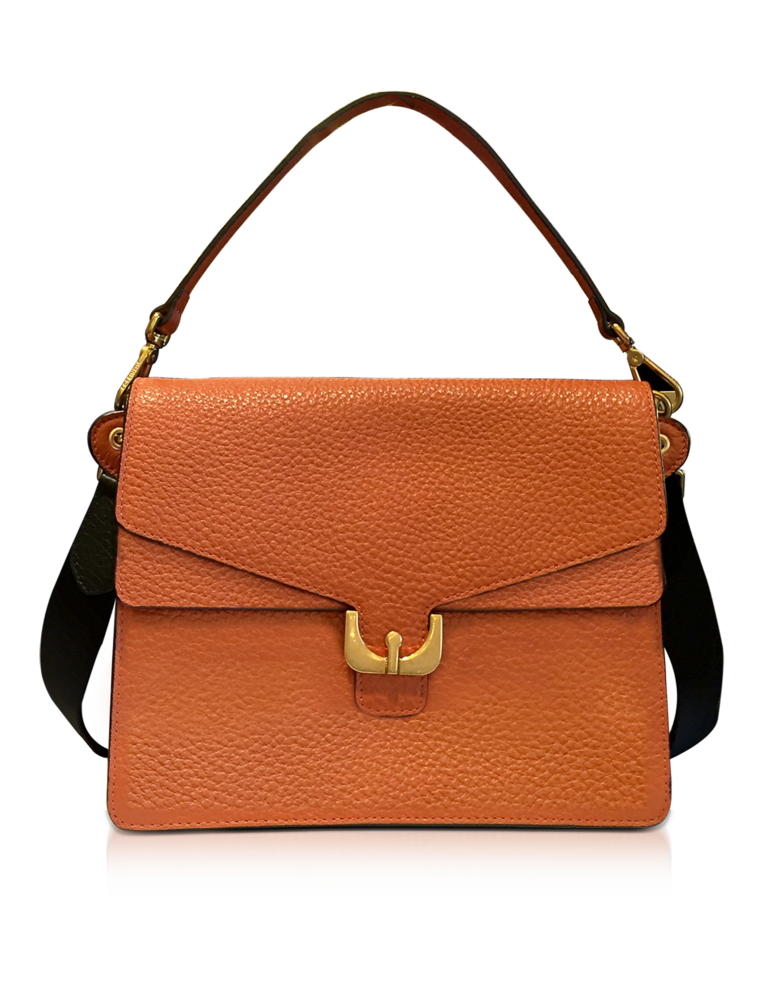 Coccinelle Handbags, Ambrine Calendula Bubble Leather Satchel Bag