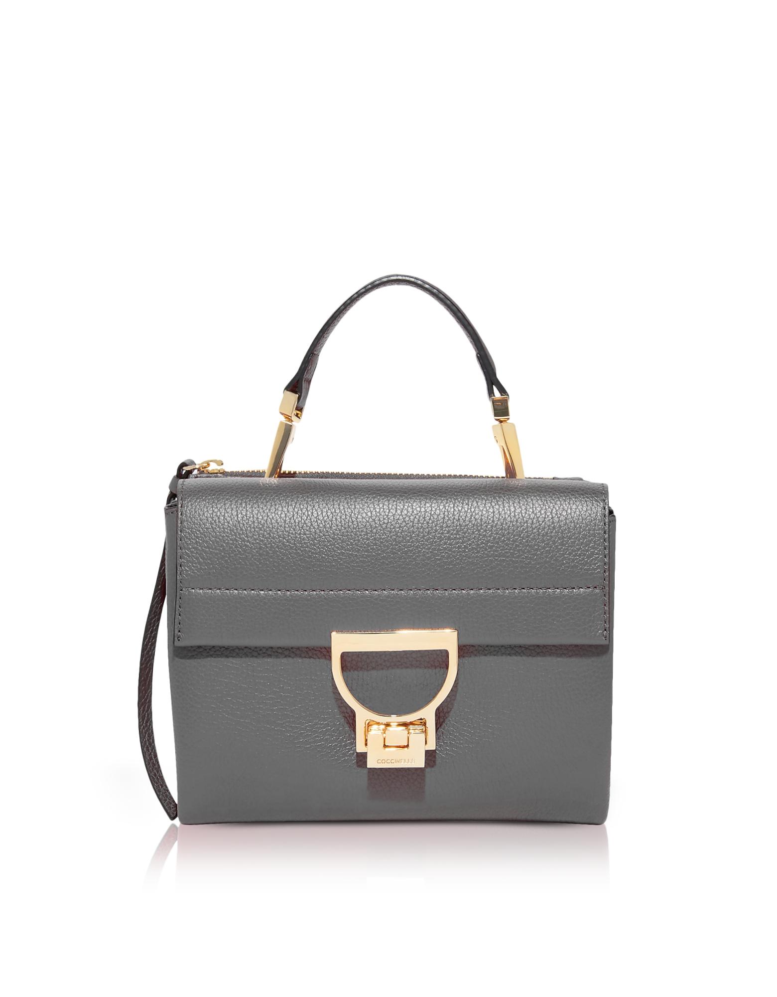 Coccinelle Handbags, Arlettis Grained Leather Mini Bag w/Shoulder Strap