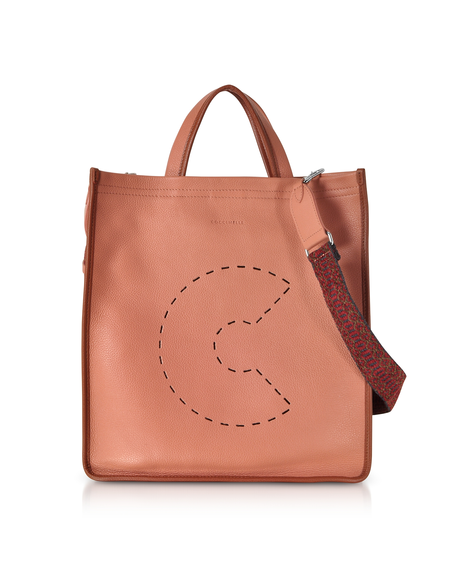 C Bag Grained Leather Tote