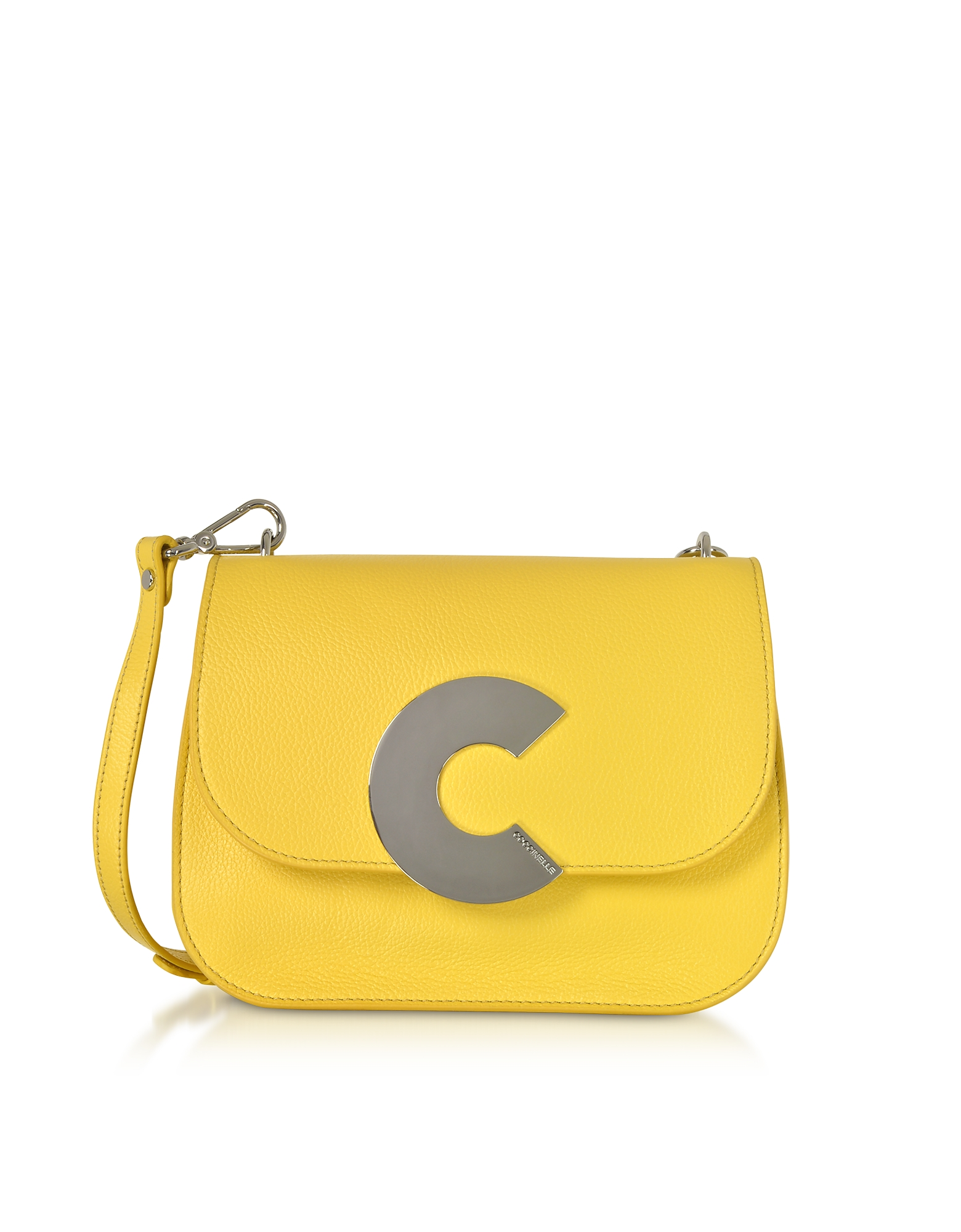 Coccinelle Handbags, Craquante Grained Leather Medium Crossbody Bag