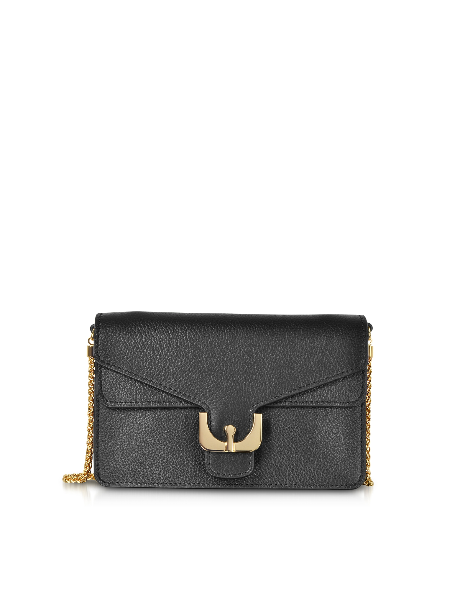 Ambrine Soft Grained Leather Crossbody Bag