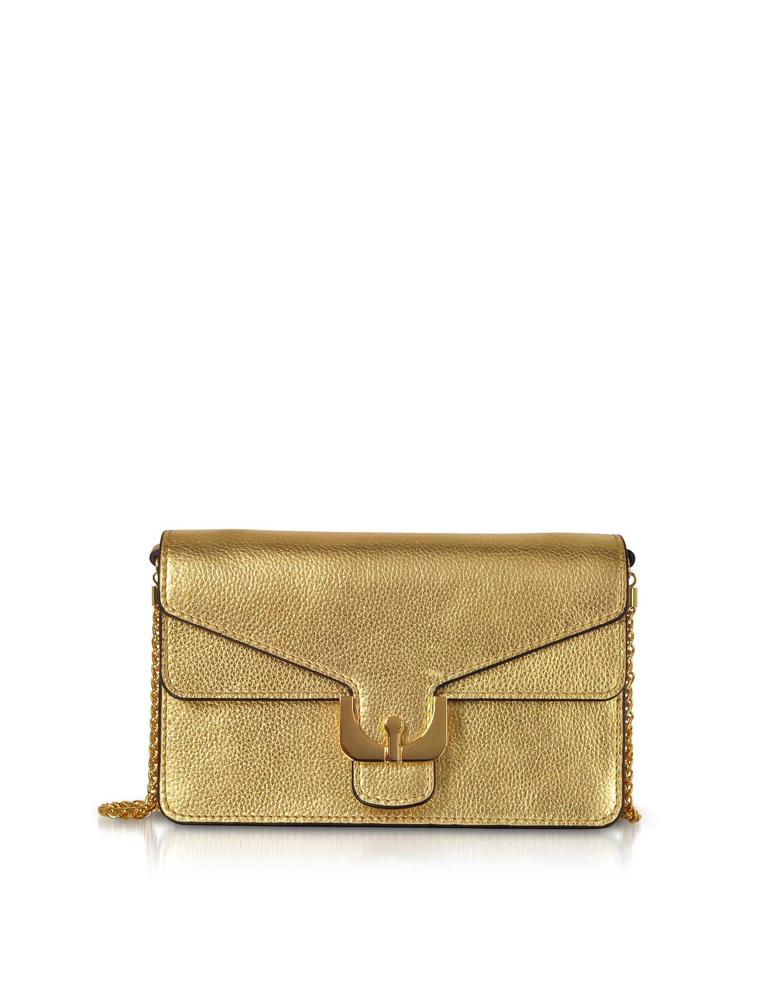 Ambrine Soft Grained Leather Crossbody Bag