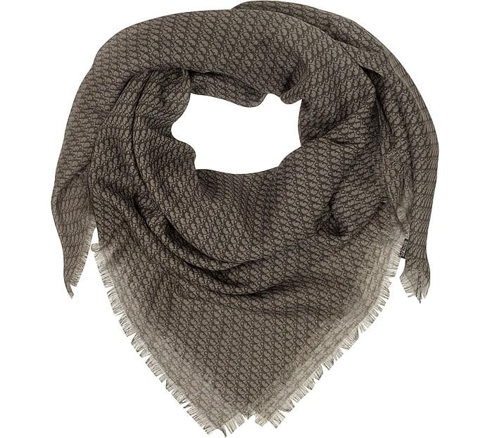 Chèche en laine et en soie - Christian Dior