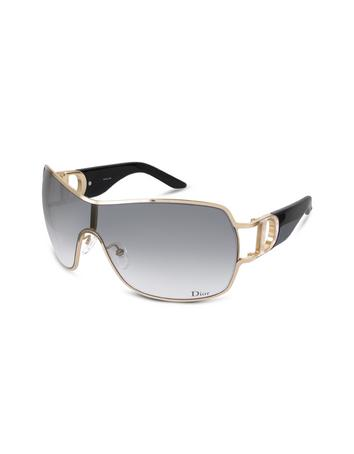 Christian Dior Dior Precoll1 - Cutout Logo Shield Sunglasses