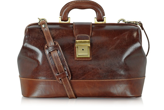 Handmade Leather Professional Doctor Bag - Chiarugi