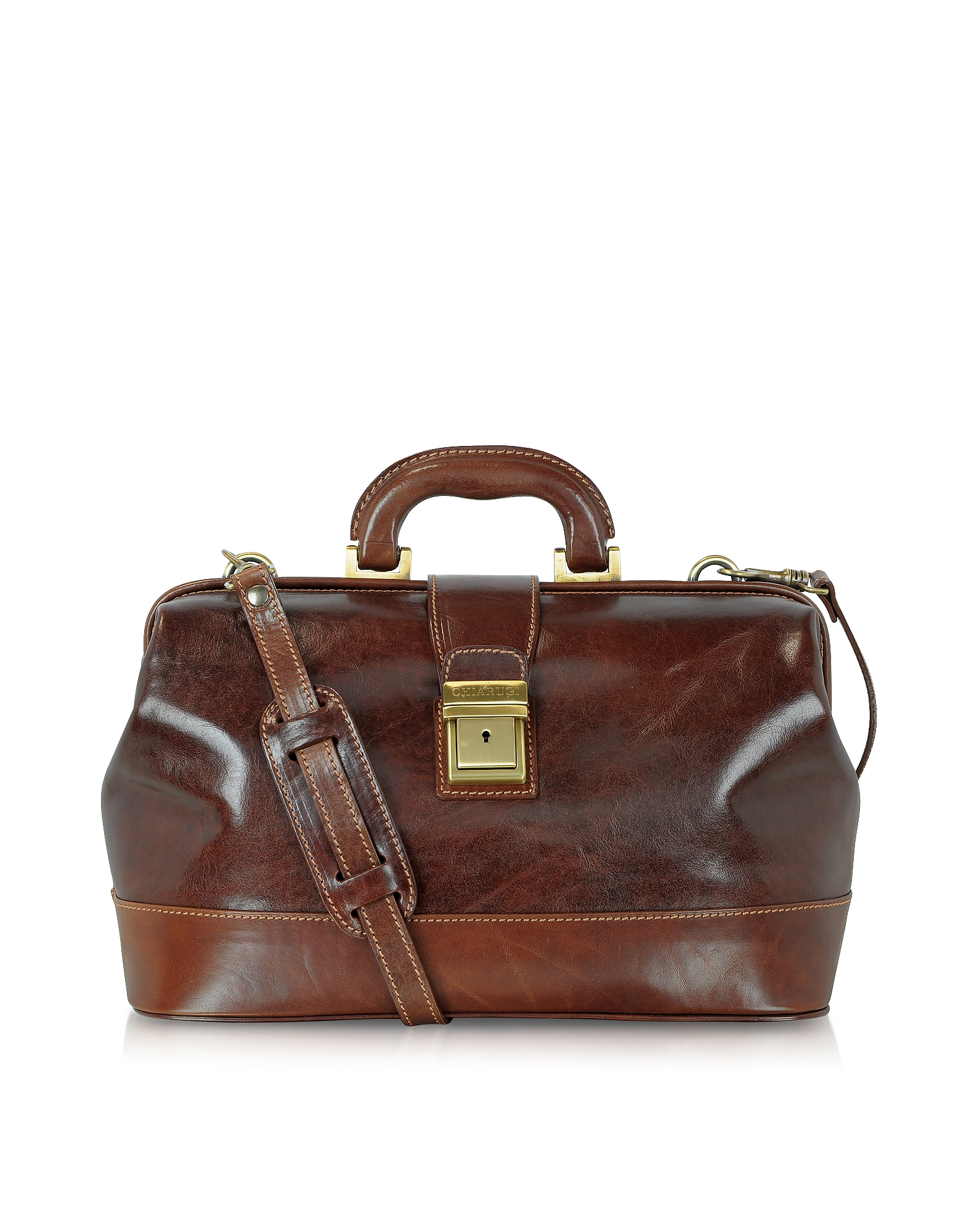 Chiarugi Designer Briefcases,  Handmade Leather Professional Doctor Bag