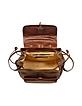 Handmade Brown Genuine Leather Backpack - Chiarugi