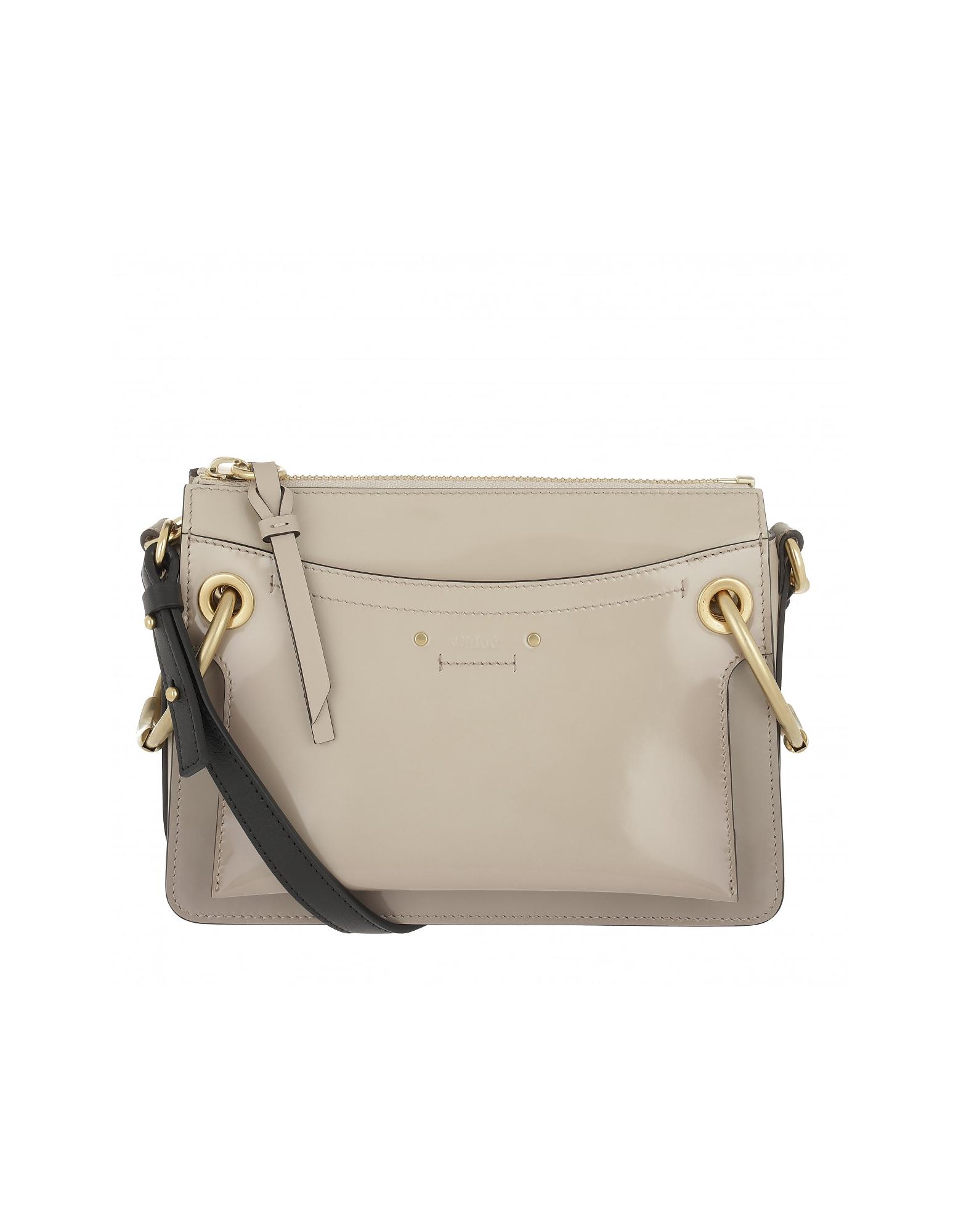 Chloe Handbags, Roy Bag Small Pastel Grey