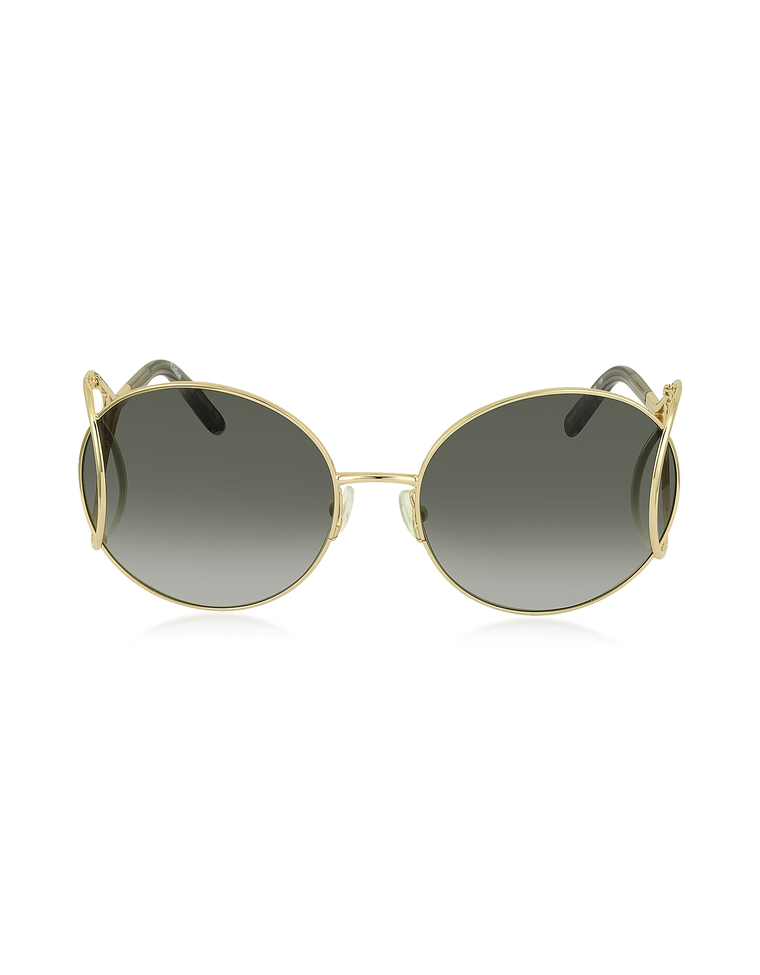 Chloe Sunglasses, JACKSON CE 124S Metal Round Women's Sunglasses