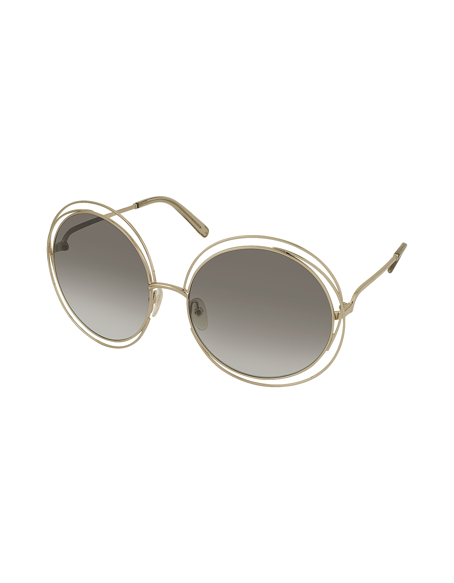 CARLINA CE 114S Metal Oval Women's Sunglasses от Forzieri.com INT