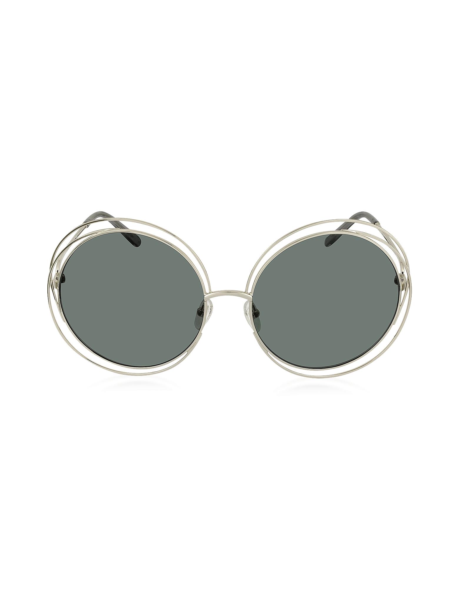 CARLINA CE 114S Occhiali da Sole Oversize in Metallo
