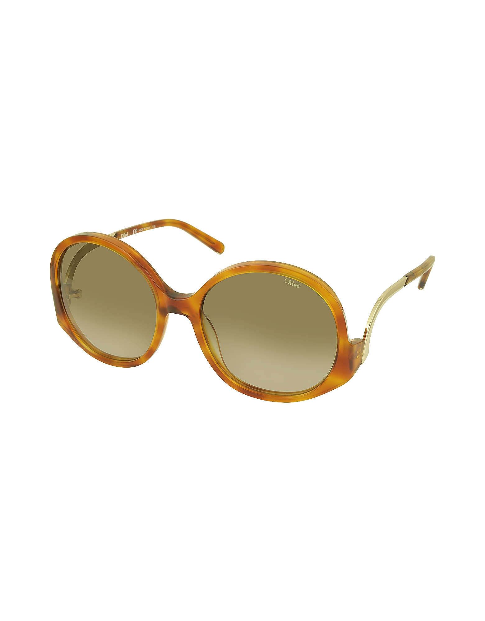 CE 707S 725 Light Havana Acetate Square Women's Sunglasses от Forzieri.com INT