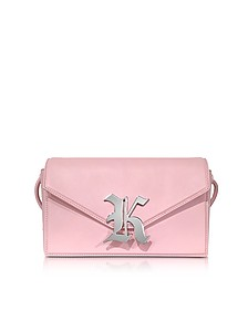 Gothic K Devine Leather Shoulder Bag - Christopher Kane