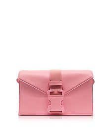 Venus Pink Grained Leather Devine Og Bag - Christopher Kane