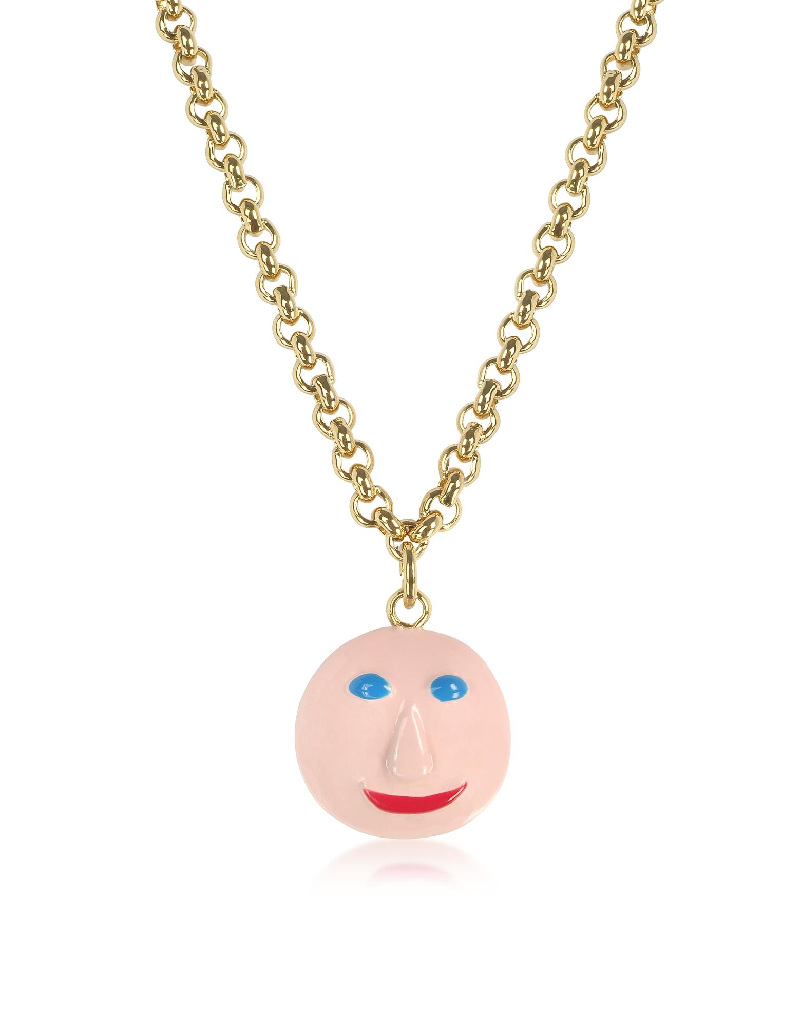 Ожерелье с Чармом Лицом