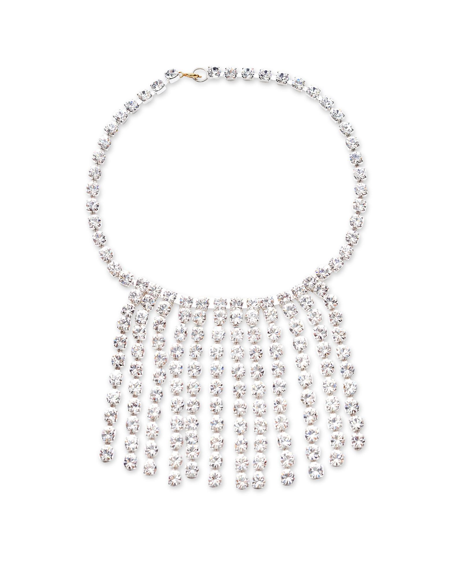 Image of Christopher Kane Designer Necklaces, Crystals Choker