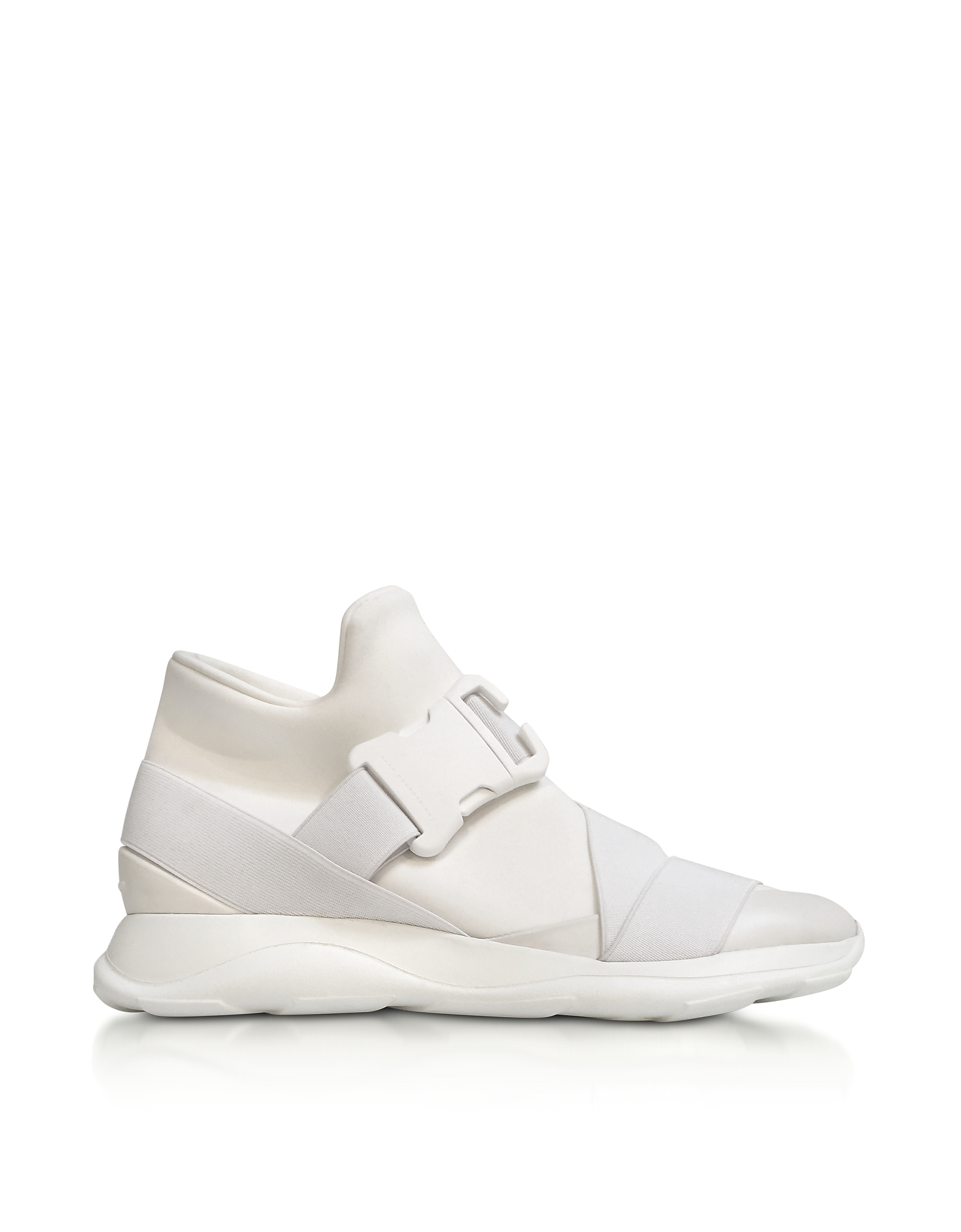 Christopher Kane Shoes, Neoprene High Top Women's Sneakers