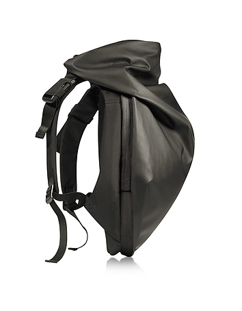 C te & Ciel - Nile Obsidian Black Polyester Backpack