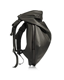 Nile Obsidian Black Polyester Backpack