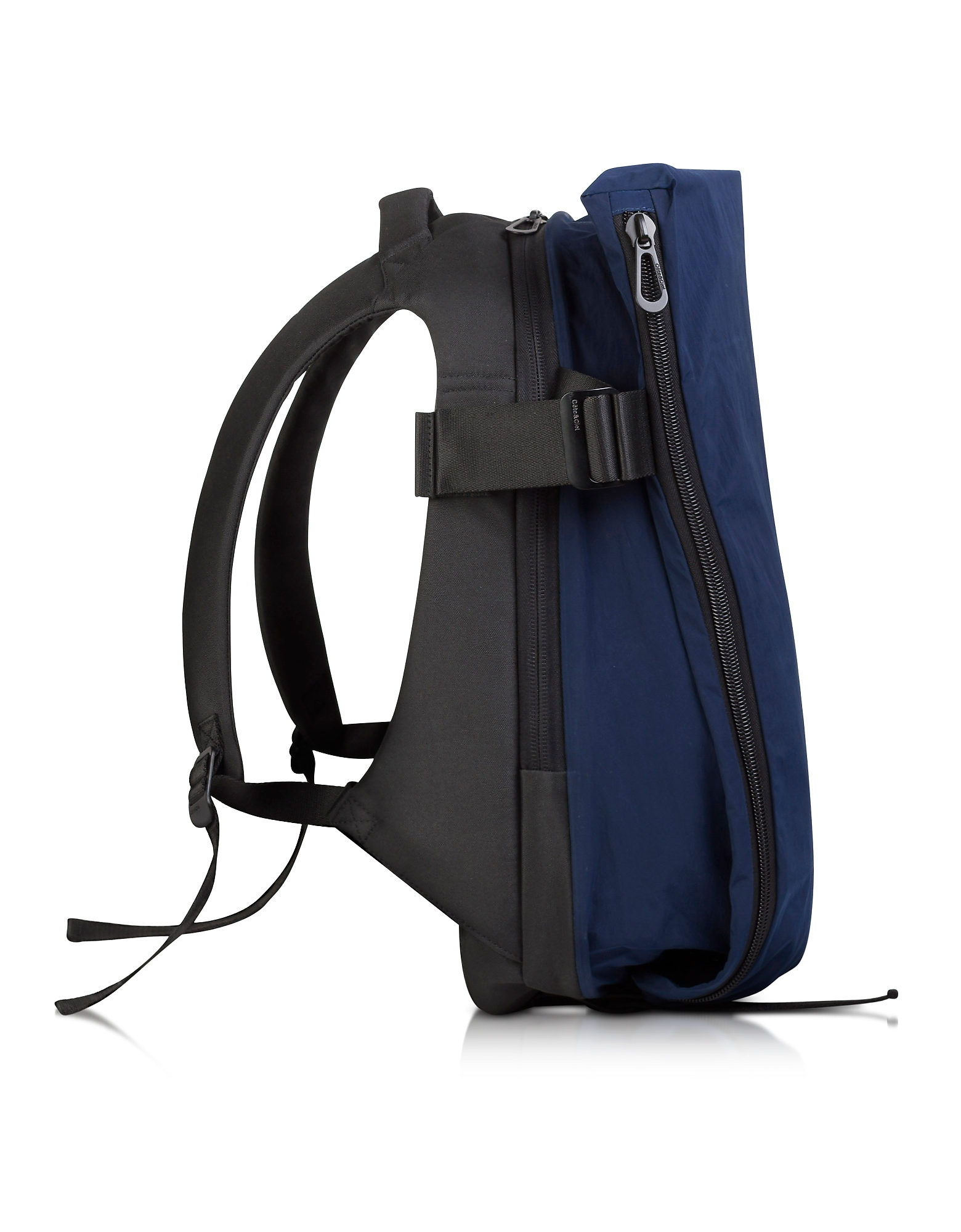 Côte & Ciel Backpacks, Isar Medium Midnight Blue Memory Tech Backpack