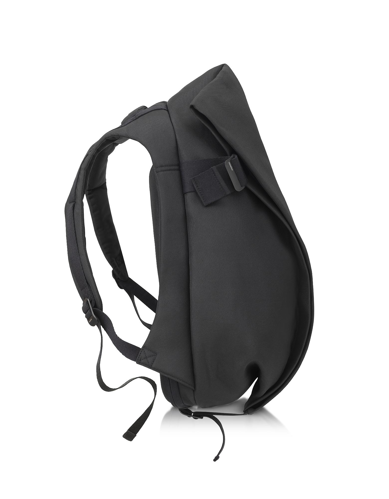 Côte & Ciel Backpacks, Isar Medium Black Eco Yarn Backpack