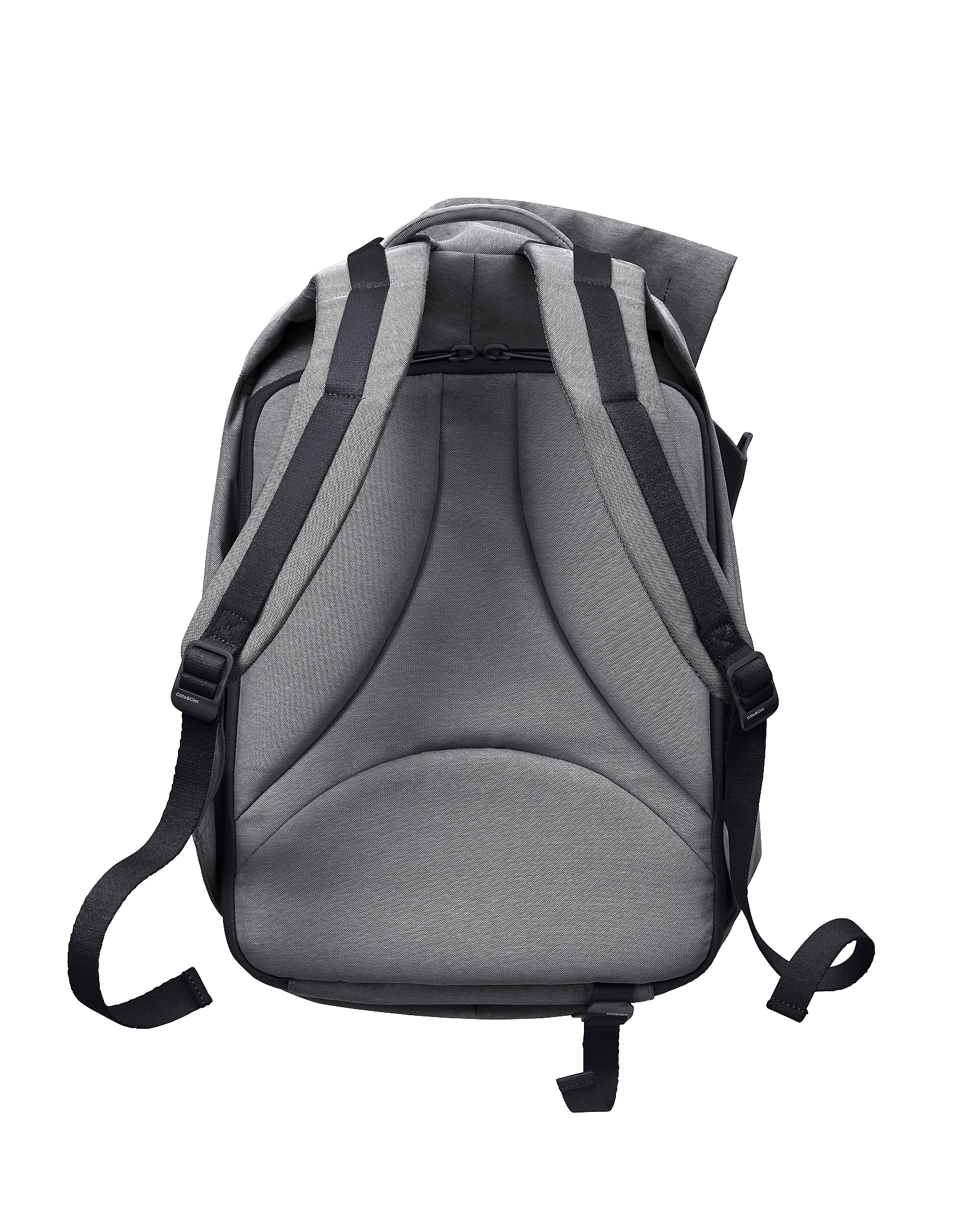 Isar Medium Black Melange Eco Yarn Backpack от Forzieri.com INT