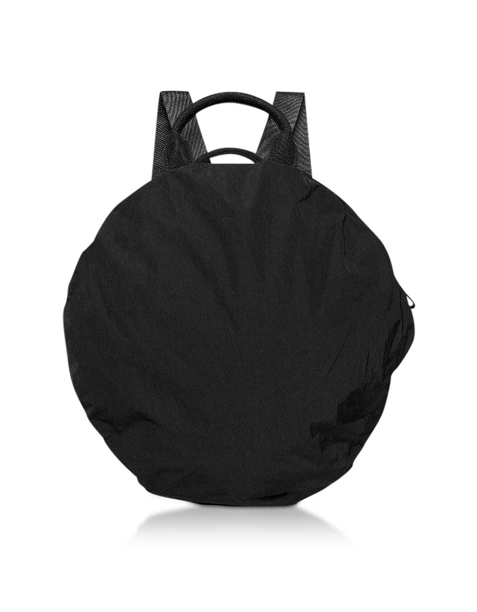 Black Nylon Moselle Memory Tech Backpack
