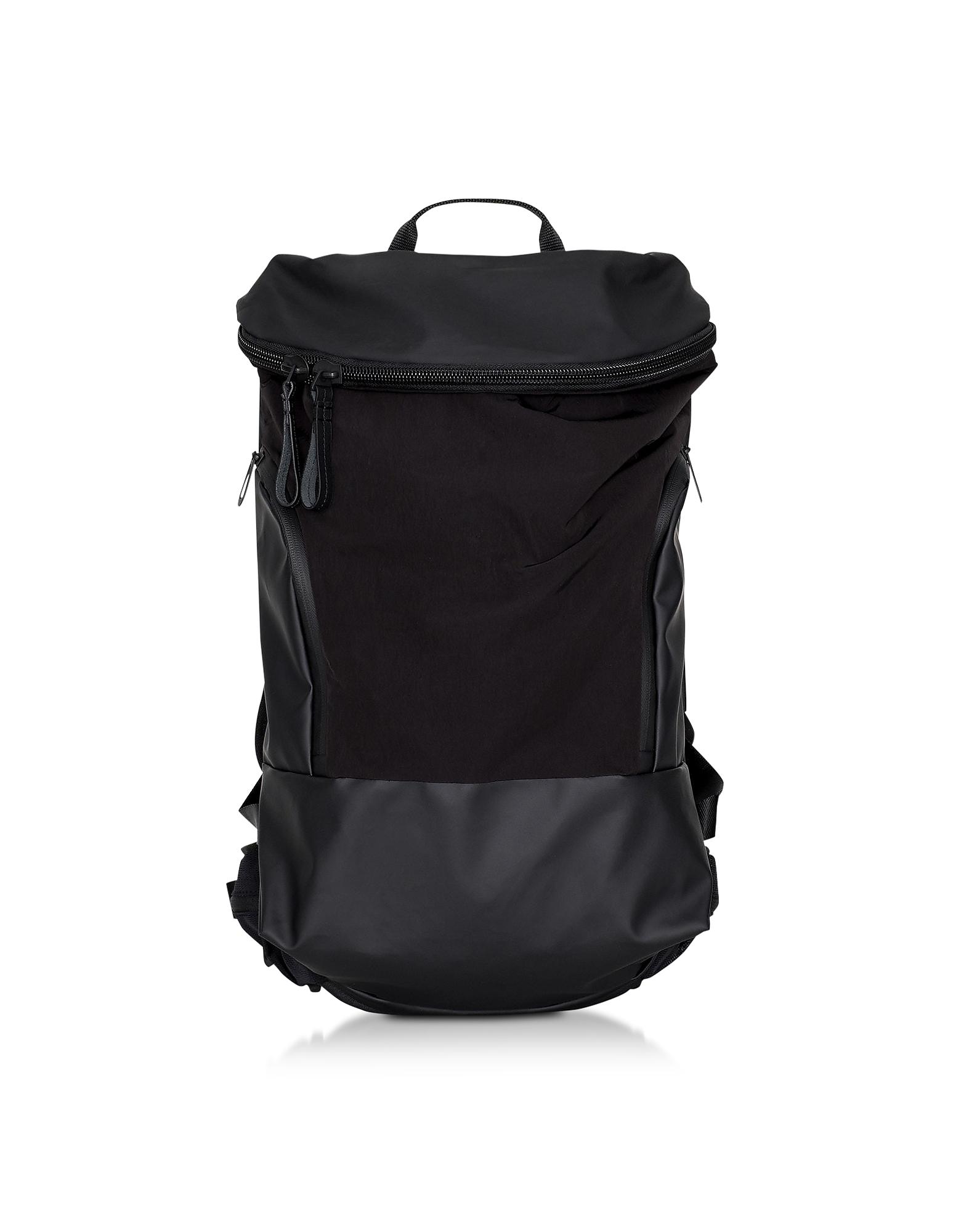 Black Nylon Kensico MemoryTech Backpack