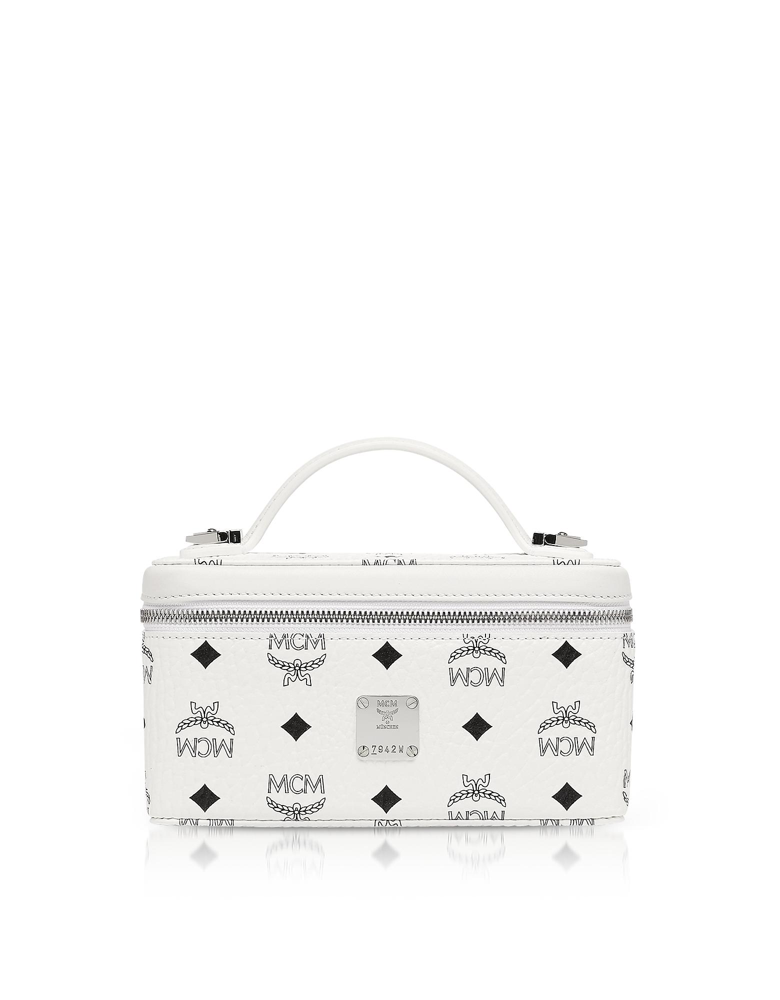 MCM Handbags, Visetos Original Rockstar Vanity Case Crossbody Bag