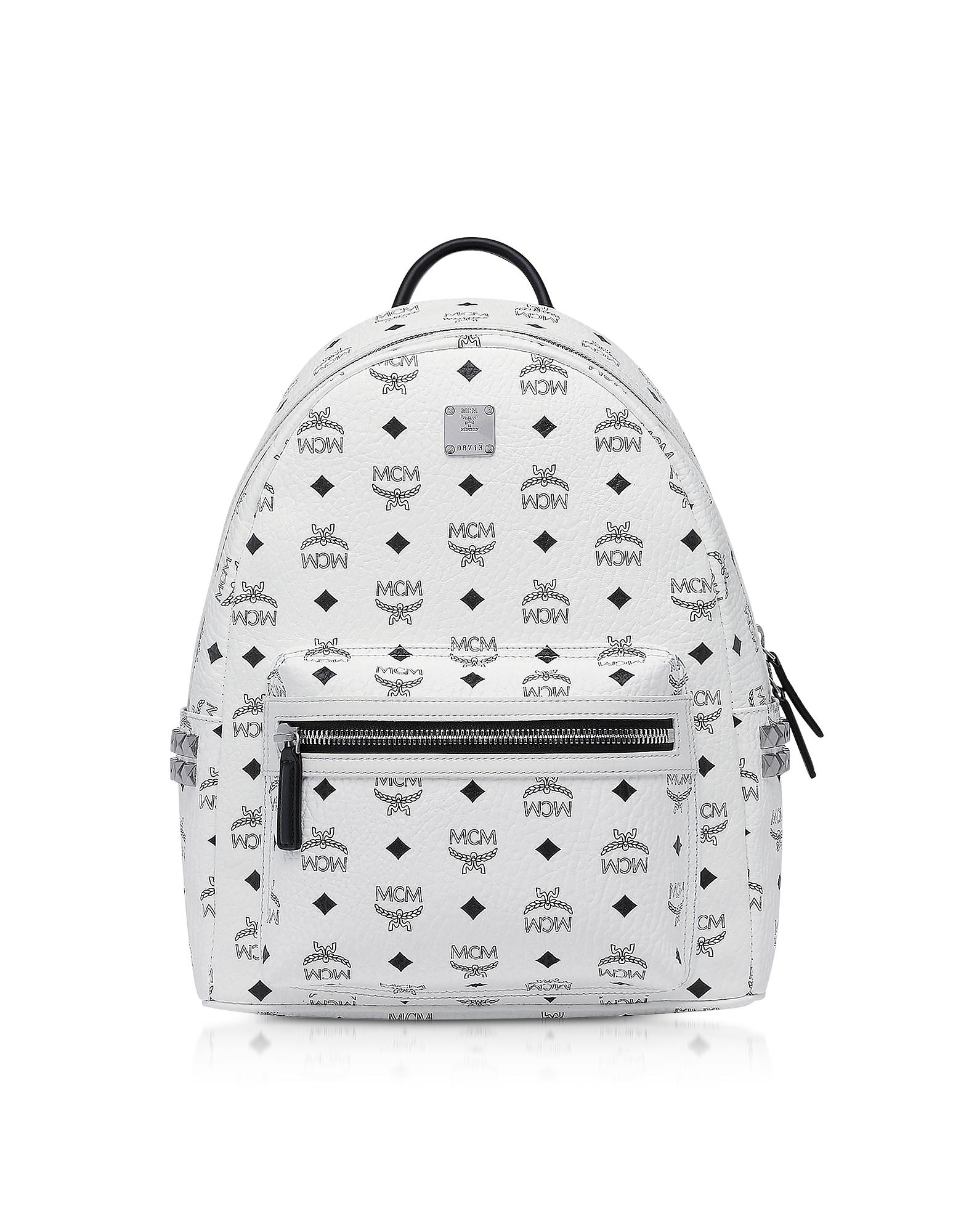 White SMD Visetos Stark Backpack