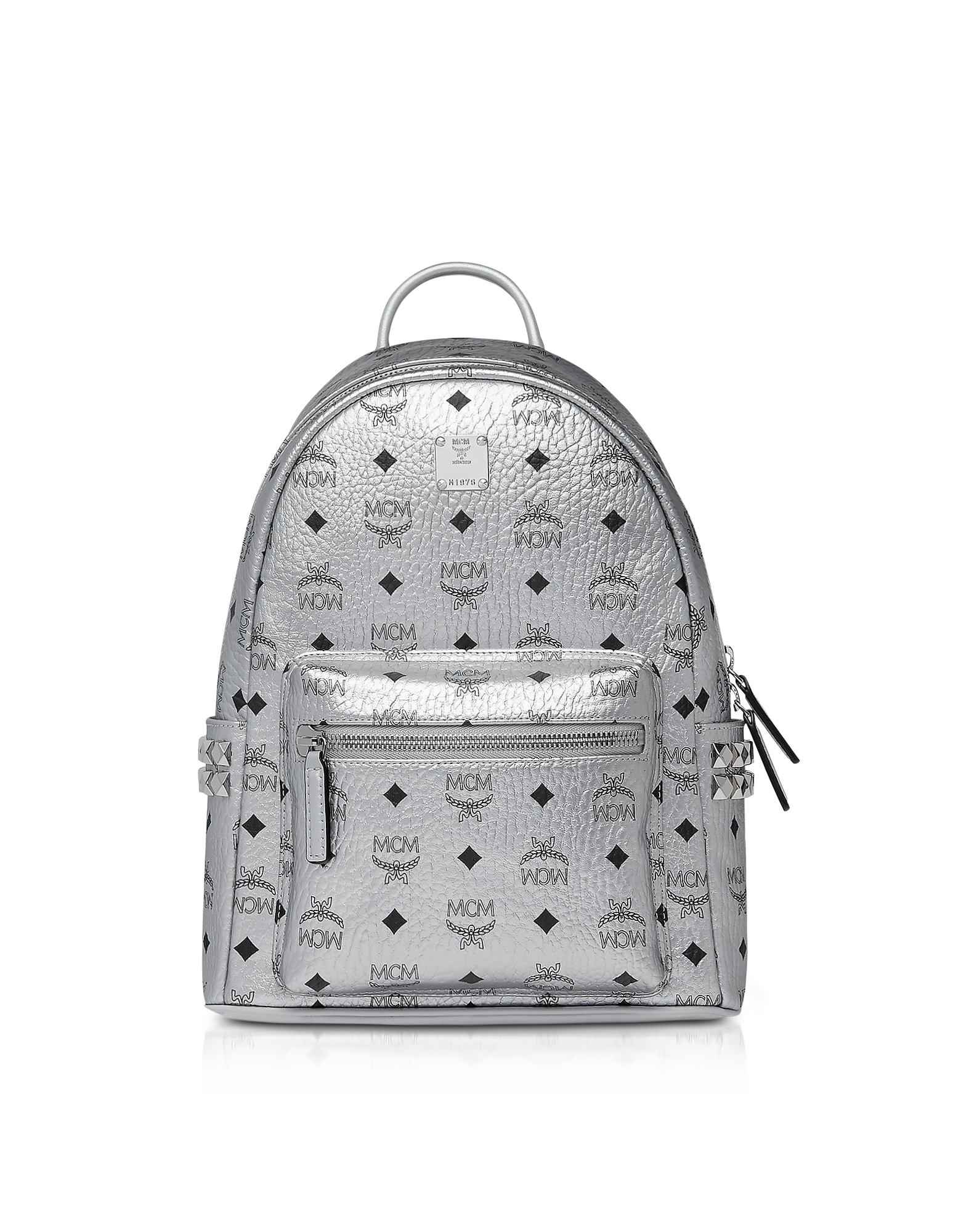 Berlin Silver Side Studs Visetos Stark Backpack 32