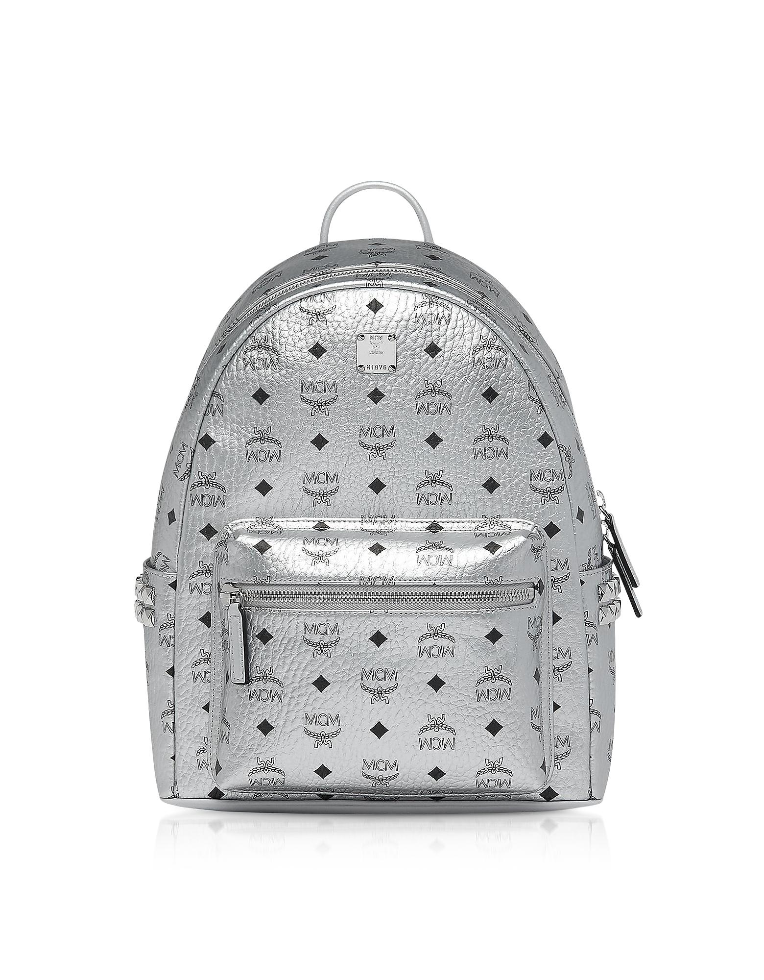Berlin Silver Side Studs Visetos Stark Backpack 37